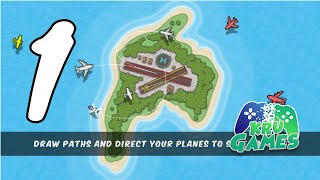 Planes Control - (ATC) Tower Air Traffic Control Gameplay #1 All Levels (Android, IOS) screenshot 2