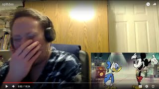 Video Ranger Reacts: Split Decision A Mickey Mouse Cartoon Disney Shorts download MP3, 3GP, MP4, WEBM, AVI, FLV September 2017