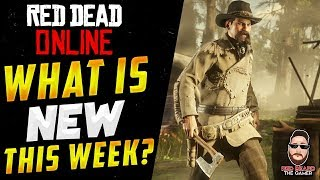 NEW CONTENT WHAT is NEW This WEEK in Red Dead Online