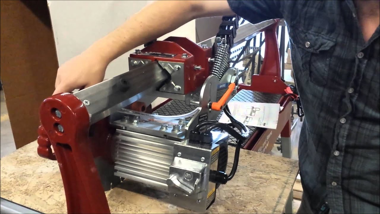 How To Use Bridge Saw For Granite Tile Or Countertops You