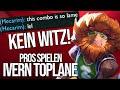 Die spielen das ja wirklich! :D | Pros spielen Ivern Toplane | Tipps von Scarface