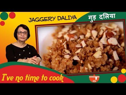 How To Make Jaggery Daliya || Veena Gidwani