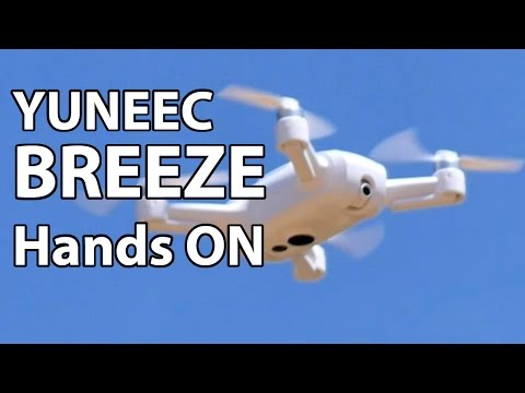 Yuneec BREEZE - Selfie drone preview