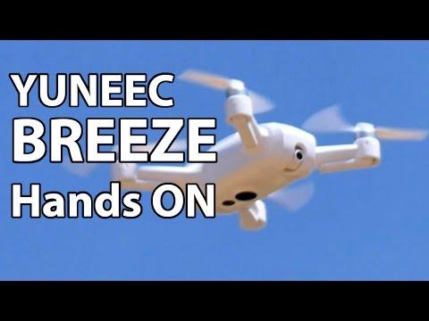 Yuneec BREEZE - Selfie drone preview