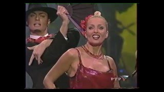 """Лайма Вайкуле в  концертной программе """"В XXI век с любимыми"""" 2000"""