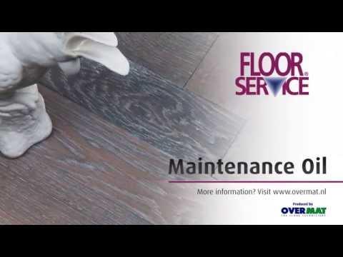 Floorservice Maintenance Oil (EN)