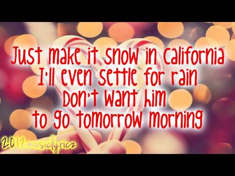 Ariana Grande - Snow In California (Lyrics)