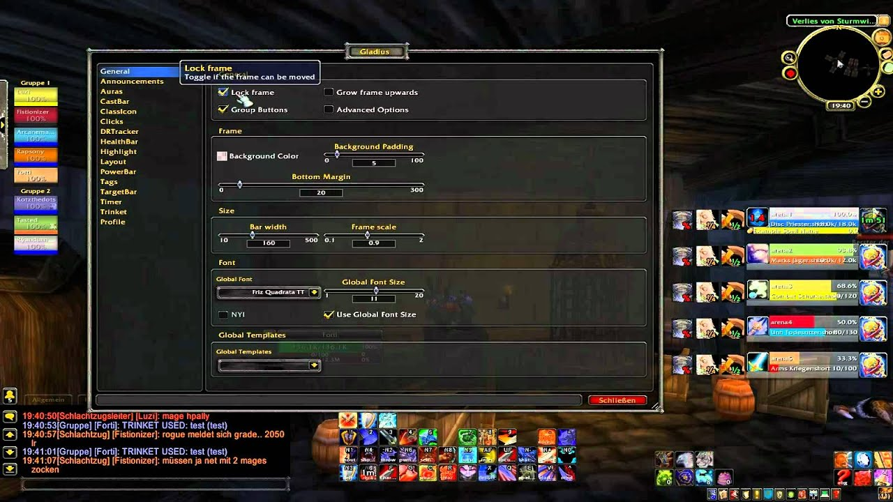 add on wow gladius 3.3.5
