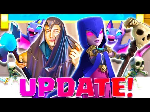 NEW WITCH UPDATE DECKS & INTENSE CLASH ROYALE RAAAGGE!! ????