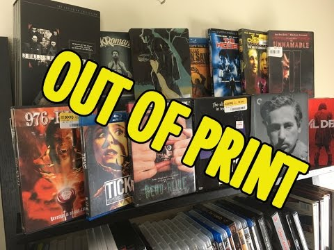 My Rare / Out of Print Blu-Ray & DVDs