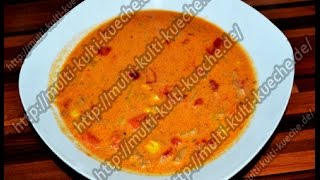 Hack Paprika Suppe