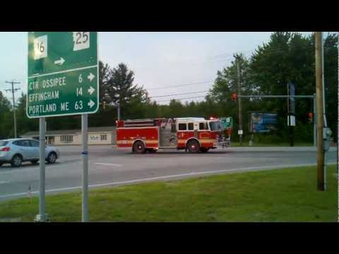 West Ossipee Fire Response