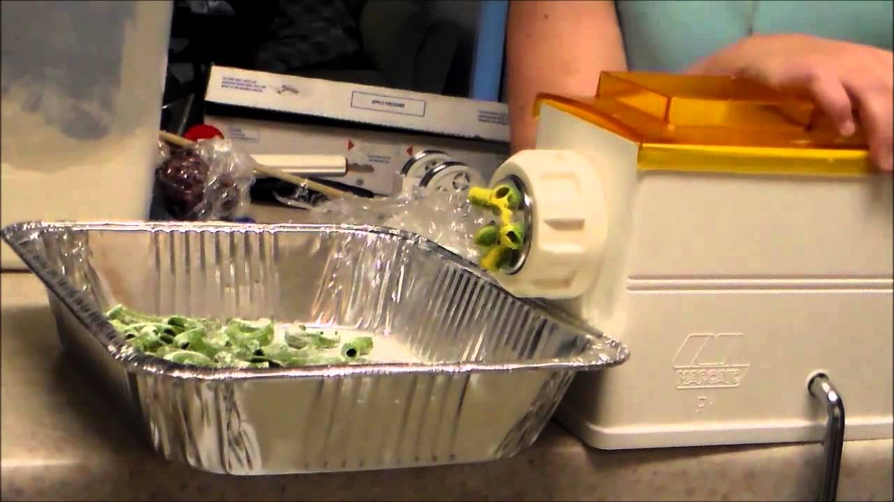 Macchina Per Pasta Regina How To Make Extruded Pasta With The Regina Pasta Extruder By Marcato 2 Colored Extruded Pasta