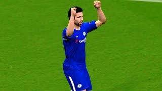 West Brom vs Chelsea 18 November 2017 Gameplay