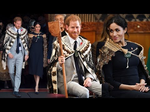 The Duke & Duchess of Sussex step out for the Final Day of their royal tour in New Zealand