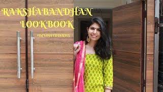 RAKSHA BANDHAN LOOKBOOK | Taniya Arora @T'SCLOSETDIARIES