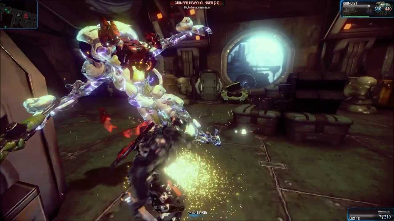 warframe how to get rhino