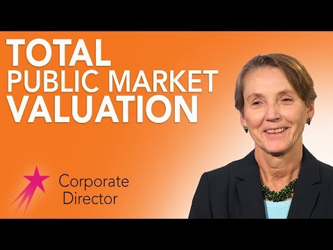 Corporate Director: What is Market Capitalization - Tee Taggart Career Girls Role Model