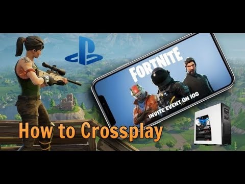 how to play with ps4 friends on pc fortnite