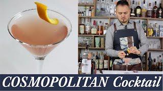 Receita Cosmopolitan Cocktail