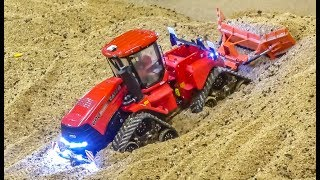 R/C trucks, tractors and HEAVY MACHINES at work!