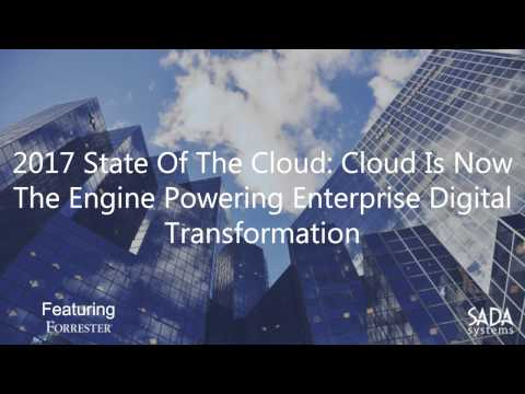 2017 State of the Cloud: Featuring Keynote by Forrester Analyst