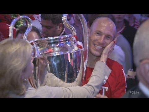 """FC Bayern - Feier in London, Ankunft in München - """"Mit 1,8 Promille trotzdem eine Chance in Berlin"""""""
