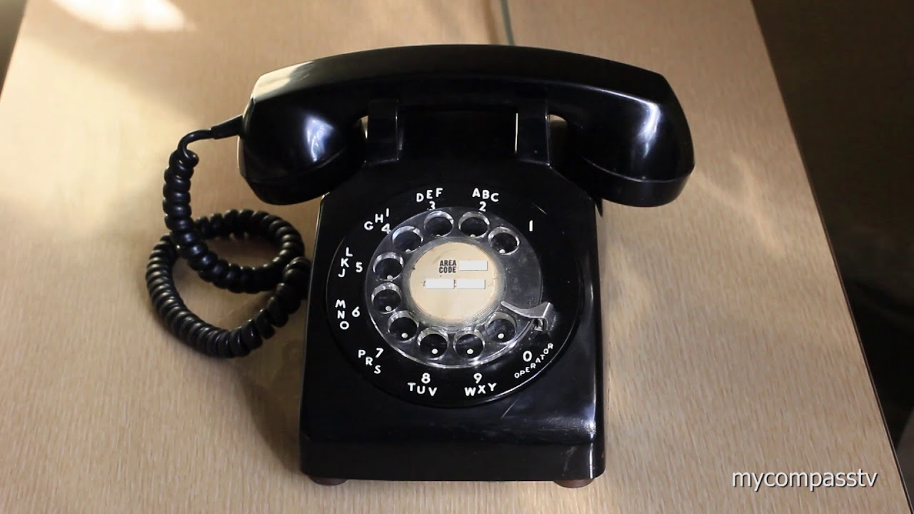 Old Rotary Phone Ringing - Free sound effect