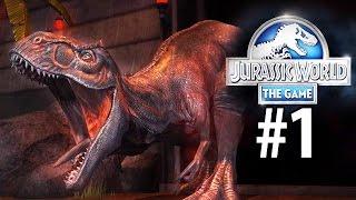 Jurassic World: The Game (Полное русское прохождение) - Эпизод #1||Начало игры