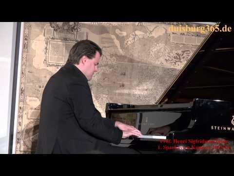 1. Sparkassen Konzert 2013-14 mit Prof. Henri Sigfridsson