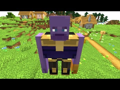 Thanos Has Cursed Minecraft
