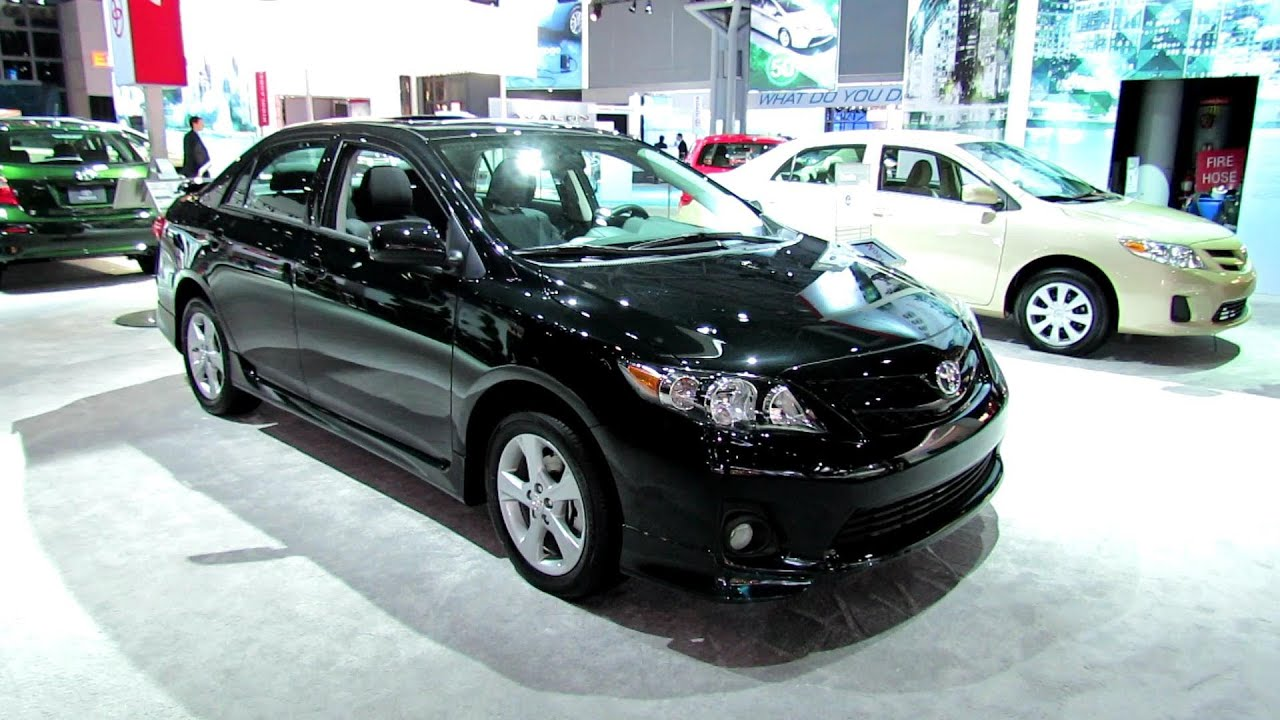 2012 Toyota Corolla S Interior And Exterior At 2012 New York International  Auto Show   YouTube