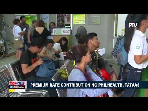 Premium rate contribution ng PhilHealth, tataas
