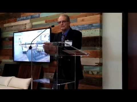 Salk Institute president William Brody at GSK San Diego