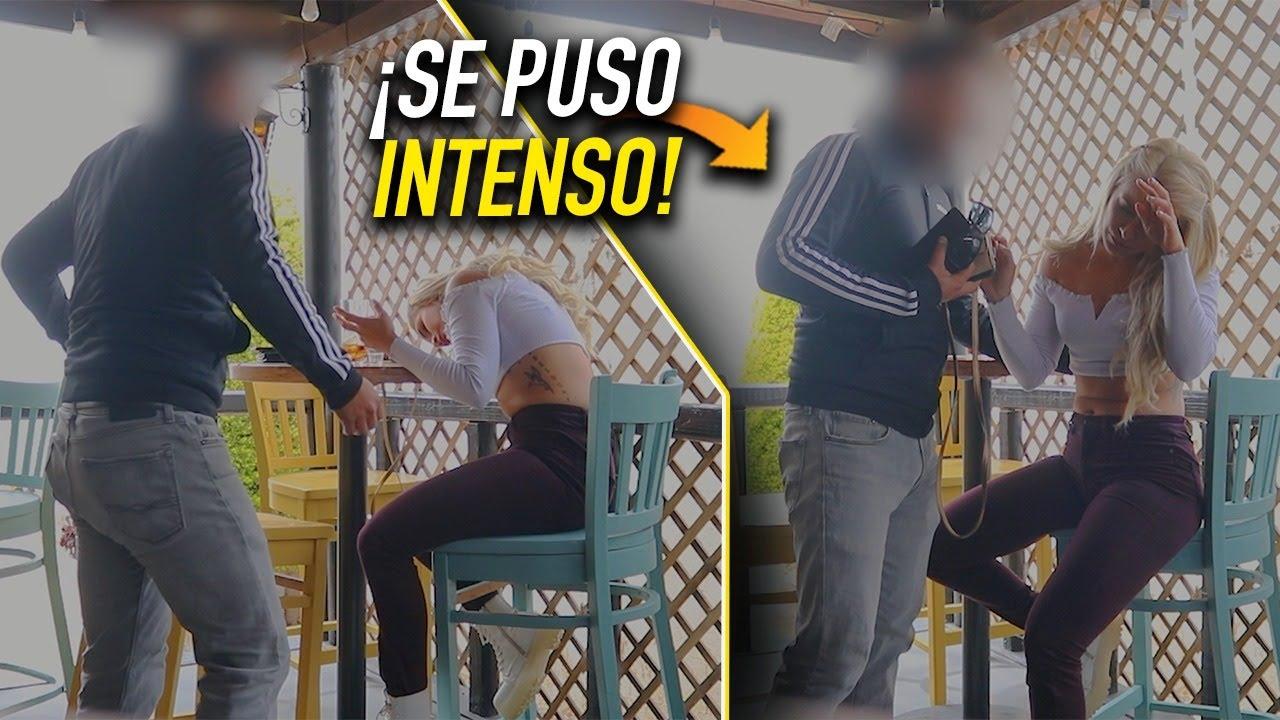 DESCONOCIDO se QUISO APROVECHAR DE CHICA EBRIA - SE LLEVÓ UNA SORPRESA   Somos edc