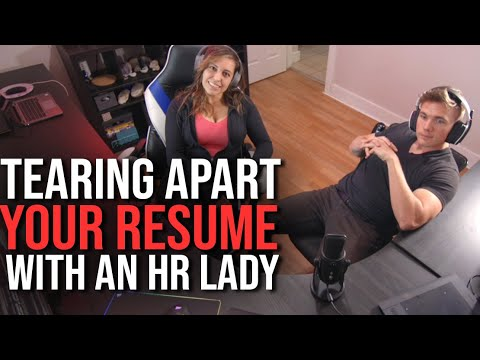 Tearing Apart Your Resume With An HR Lady | #grindreel