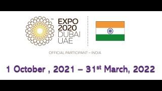 India Pavilion at the World Expo 2020, Dubai