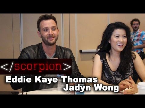 Scorpion: Eddie Kaye Thomas and Jadyn Wong