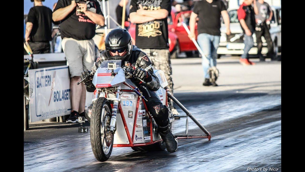 Worlds Fastest Electric Dragbike Silver Bullitt 4 82 1 8 Mile