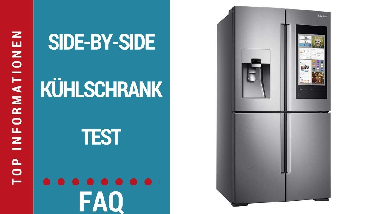 ᐅ Side-by-Side-Kühlschrank Test - YouTube