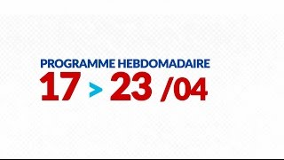 Programme de courses Equipe FDJ - Semaine du 17 au 23 avril