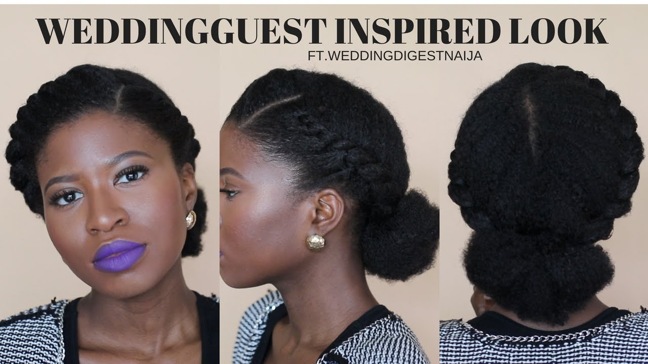 WEDDING GUEST INSPIRED PROTECTIVE STYLE Ft