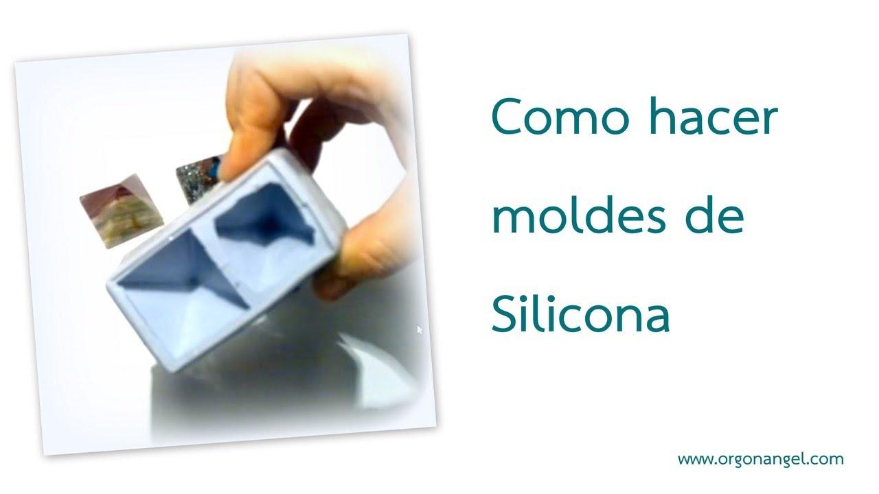 Como hacer moldes de Silicona para reproducir piramides pequeñas - Orgonangel