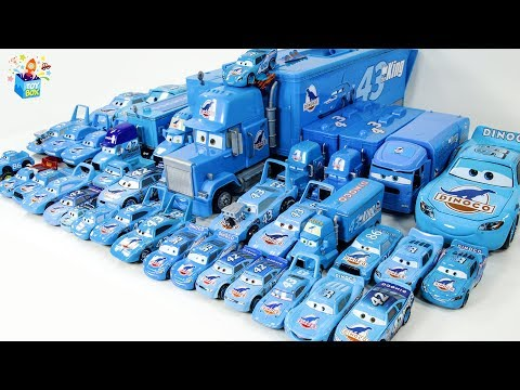Learning Color blue color dinco Disney Pixar Cars Lightning McQueen play toys funny video for kids