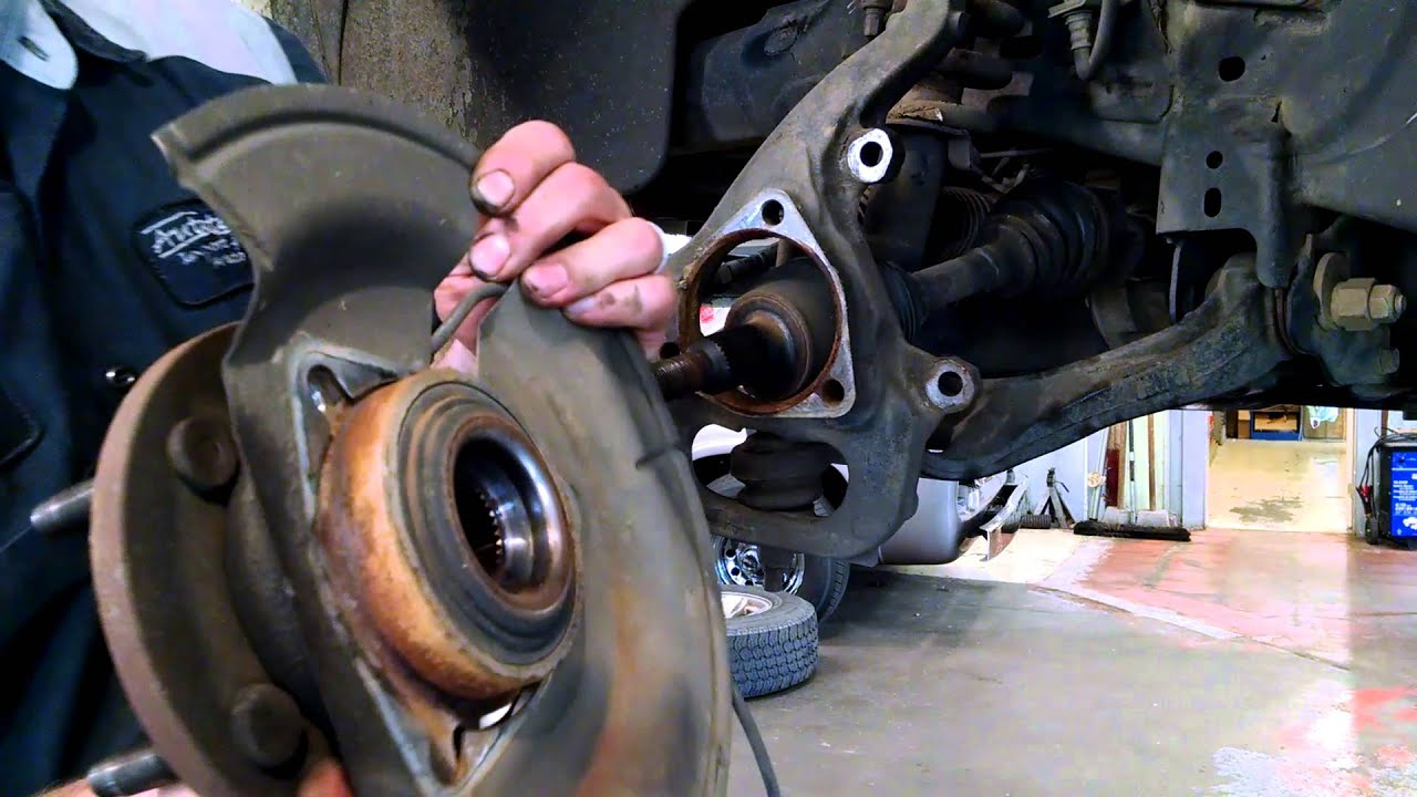 Wheel Bearing Hub Assembly Replacement Dodge Dakota 2005