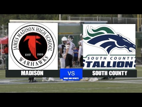 Madison Vs South County Football 2019