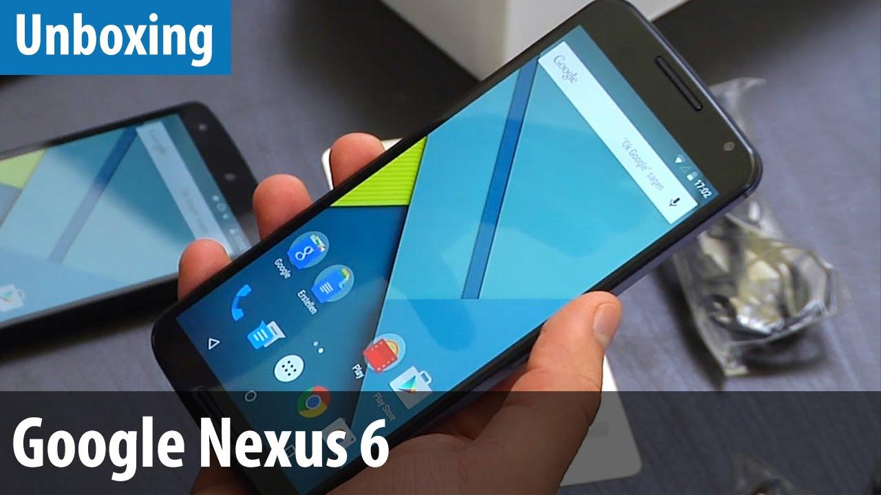 Google Nexus 6 im Unboxing / Hands-on | deutsch / german