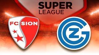 FC Sion - Grashoppers Zürich   Raiffeisen Super League #25