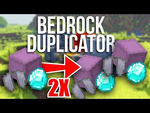 Item DUPLICATION GLITCH for Minecraft Bedrock!