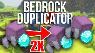 minecraft Bedrock DUPLICATION GLITCH EASY Tutorial  PS4 , MCPE , Xbox , Windows & Switch